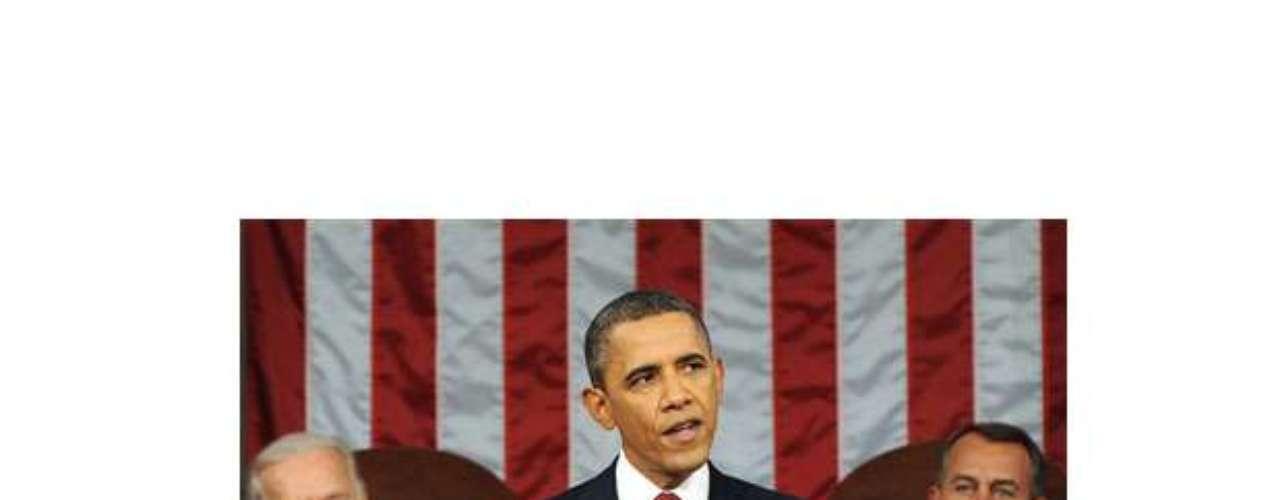 Otro meme más sobre la presencia de Boehner durante el discurso de 2013 de Barack Obama.