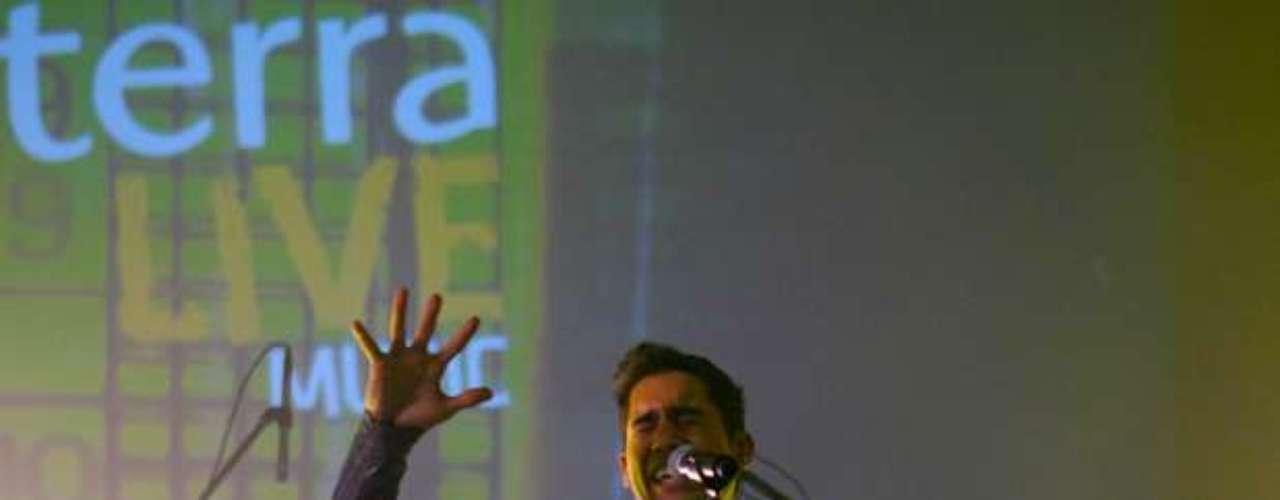 Rigú se consagró como cantante sobre la tarima de Terra Live Music.