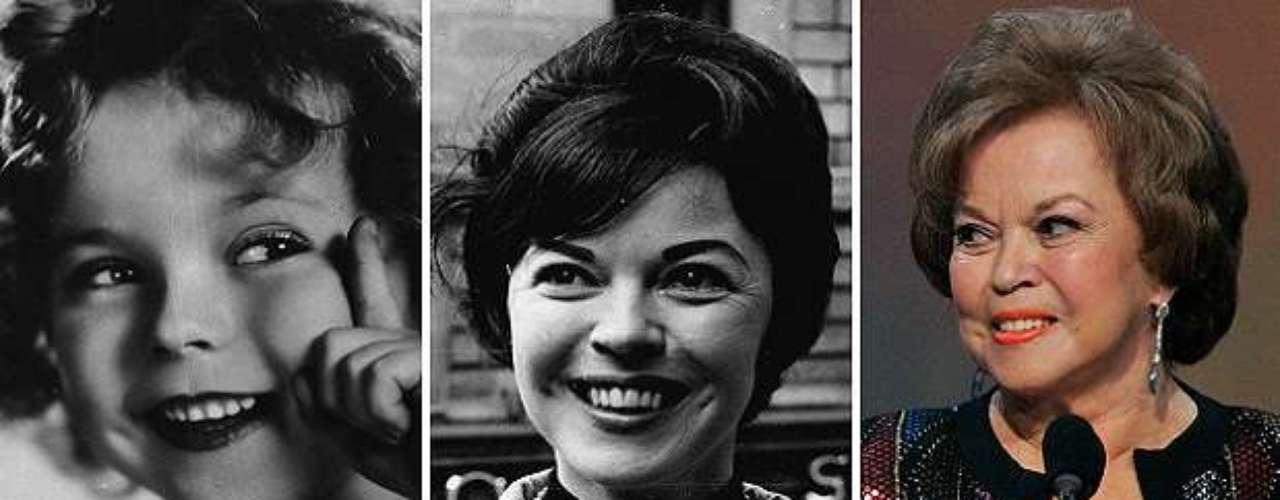 Shirley Temple murió en Estados Unidos. Es reconocida por serla más famosa estrella infantil de todos los tiempos.