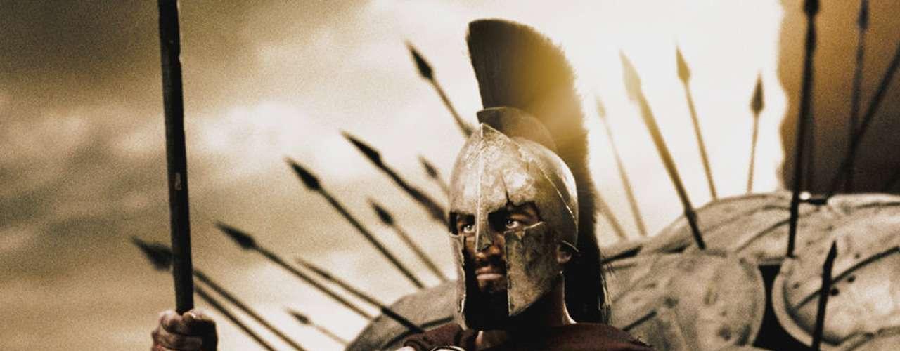 'Leónidas' fue interpretado por Gerard Butler en el filme de 2006de Zack Snyder.