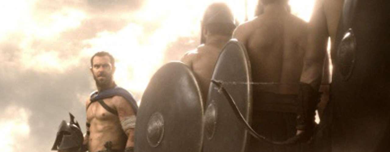 Sullivan Stapleton interpreta al general griego 'Temístocles' en la esperada secuela '300: El Origen de un Imperio' (2014).