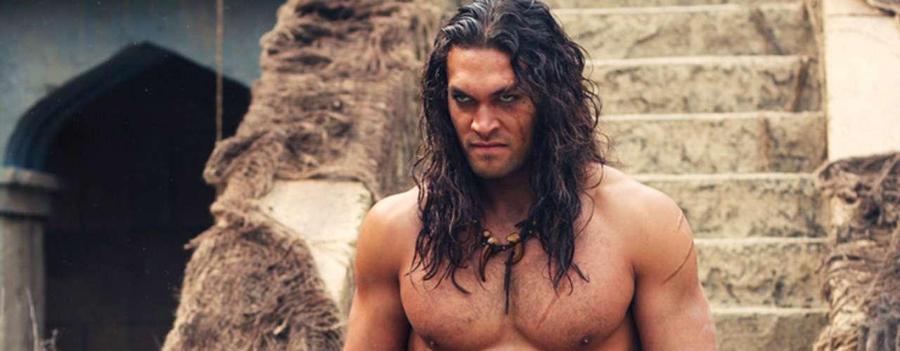 'Conan el Bárbaro' tuvo la cara y cuerpo de Jason Momoa ('Game of Thrones') en 2011, bajo la dirección deMarcus Nispel.