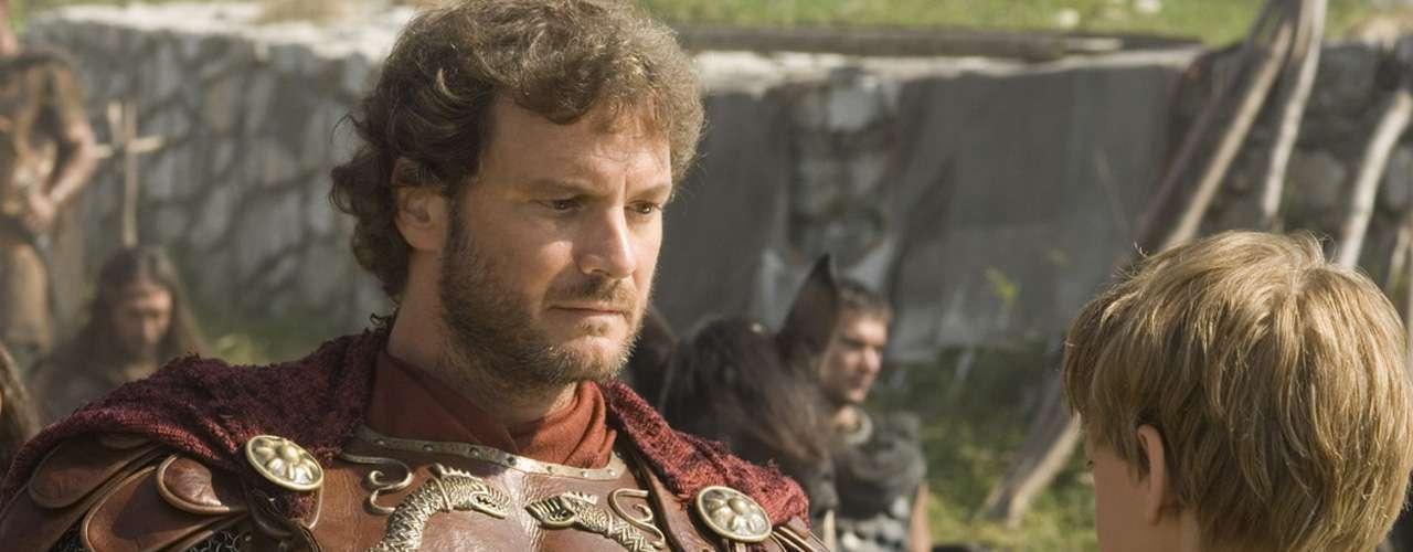 Colin Firth fue'Aurelius' en 'La última legión' (2007).