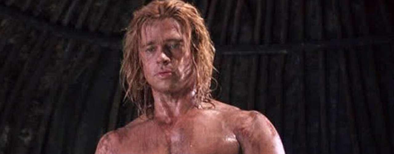 Brad Pitt en 'Troya' (2004), donde dio vida al guerrero'Aquiles'.