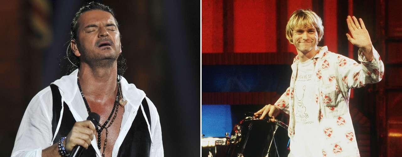 Si algunos amantes de la música quieren cambiar a Ricardo Arjona por Gustavo Cerati, millones pedirían su cambio por Kurt. Mientras el guatemalteco canta 'Dime que No', el vocalista de Nirvana sigue incomodando a los más puristas con el tema 'Rape Me'.