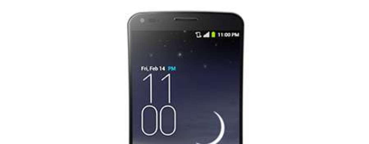 16º - LG G Flex - Este smartphone cuenta con una pantalla curvada de seis pulgadas que te permite disfrutar video e imágenes en alta definición. De lo más nuevo de LG