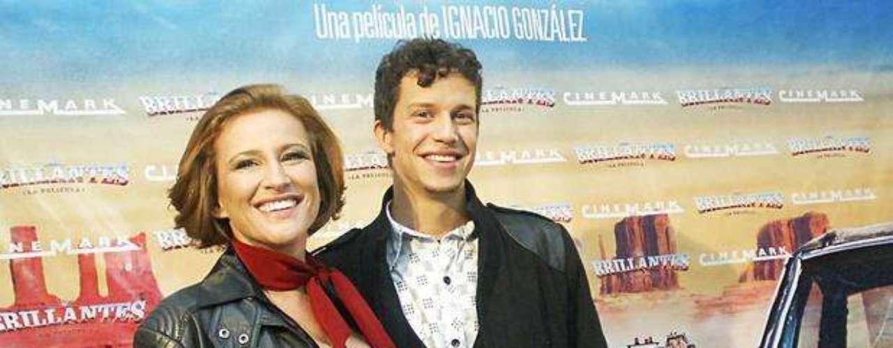 Los actores de Canal 13, Sigrid Alegría y Alonso Quintero.