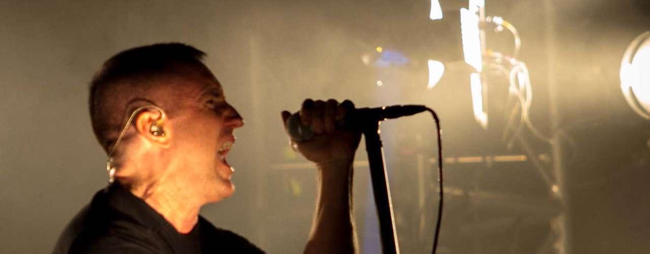 Nine Inch Nails hizo vibrar el Foro Sol durante su presencia.