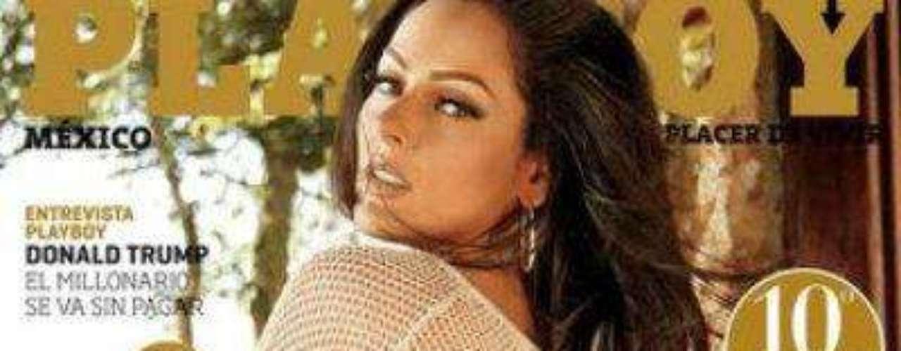 Brissia Mayagoitia.-La actriz engalanó la portada de la revista en su décimo aniversario.