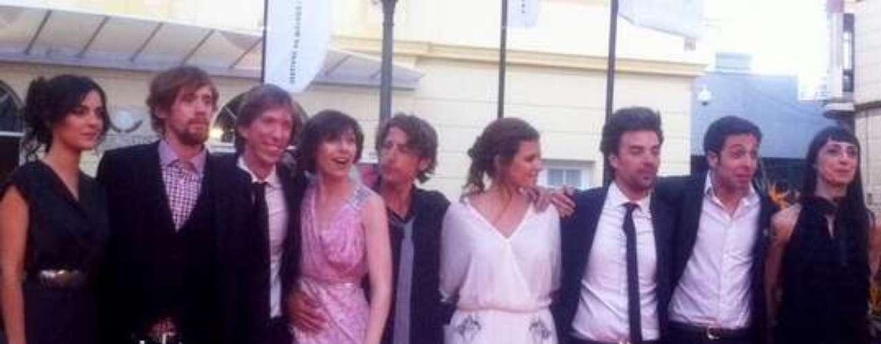 El equipo de Casting, cuyo elenco femenino y masculino se han llevado la Biznaga de Plata a la mejor actriz y actor de reparto, respectivamente.