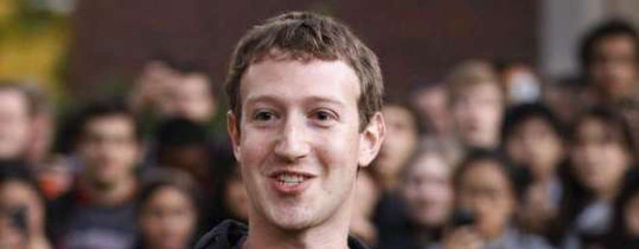 1 - Mark Zuckerberg - CEO de Facebook (US$ 498,8 millones)
