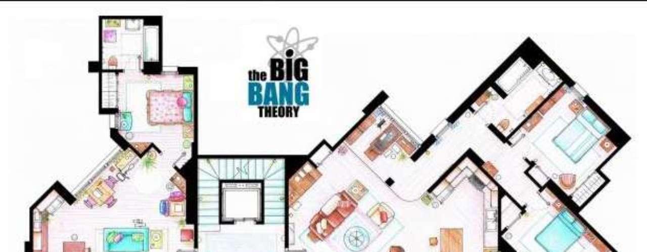 The Big Bang Theory: Uno de los dibujantes, Iñaki Aliste Lizarralde, ha publicado en su cuenta de DeviantArt los planos de los apartamentos más míticos de las series estadounidenses. Friends, Sexo en Nueva York o Frasier son algunas de ellos. En los planos de este ilustrador vasco hay una atención milimétrica a cada detalle.