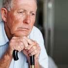 Foto: anciano, alzheimer, soledad, mayor, pensar, concentracion