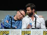 "Director de ""X-Men"", Bryan Singer, y el actor Hugh Jackman. Foto: Getty Images"