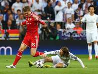 Fotos al minuto del choque Real Madrid-Bayern en Champions. Foto: GETTY.