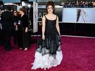 Elena Bonham Carter fue de las peor vestidas de la noche del Oscar Foto: Getty Images