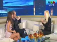 Rial y Loly con Susana Giménez en Telefe Foto: Captura TV