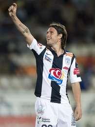 Fernando Cavenaghi ya se estrenó como goleador Tuzo. Foto: Mexsport