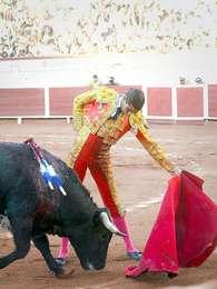 El novillero aguascalentense Ricardo Frausto encabeza el cartel que lidiara toros de Vallencinos. Foto: Cortesía Ricardo Frausto