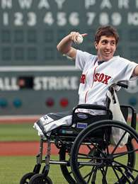Jeff Bauman, accidentado en el atentado de Boston Foto: Web