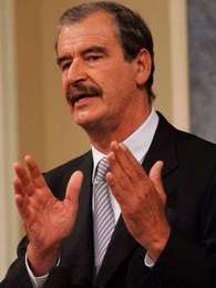 Vicente Fox Foto: AFP