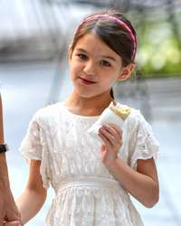 La hija de Tom Cruise y Katie Holmes está creciendo. Foto: Getty Images.
