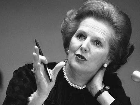 La exprimera ministra británica Margaret Thatcher. Foto: AP