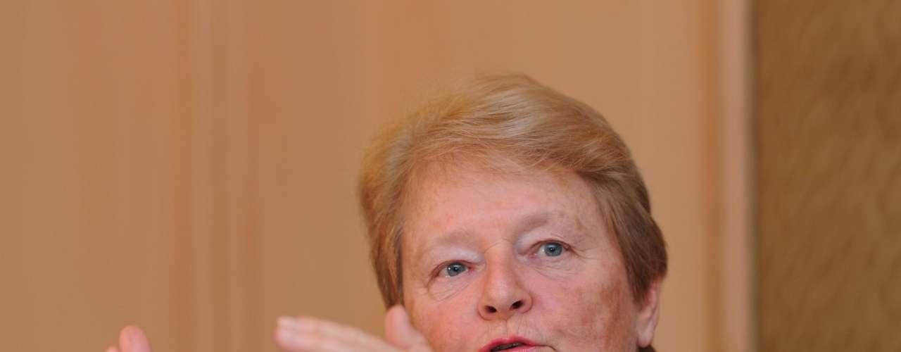 """Gro Brundtland – La excanciller de Noruega, considerada """"madre"""" del concepto de desarrollo sostenible, estará presente en los debates de la Rio+20. Brudtland participó de la elaboración del informe creado por la ONU para el evento con una lista de 56 recomendaciones para un mundo sostenible."""
