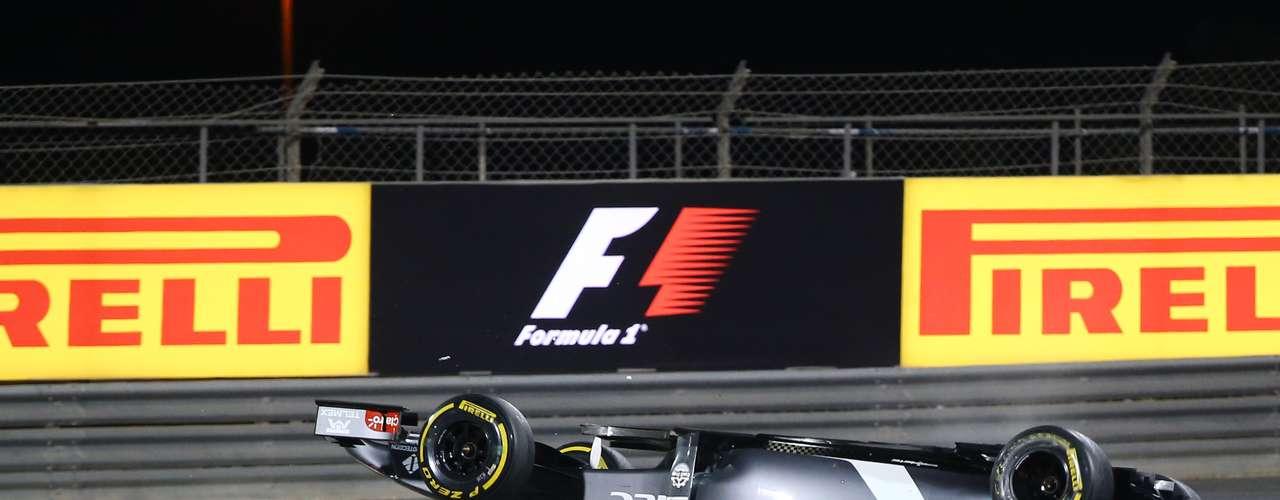 Maldonado destacó su buena carrera este domingo en el Gran Premio de Bahréin \