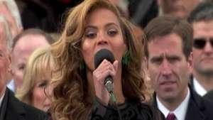 Beyoncé dublou hino durante posse de Obama, diz jornal Video: