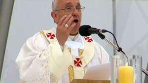 Veja momento em que Papa anunciou Cracóvia como sede da JMJ Video:
