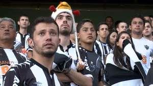 Veja reação da torcida do Atlético-MG após derrota no Mundial Video: