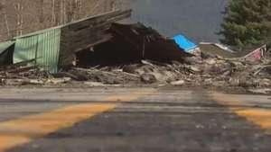 Imagens mostram como ficou área após gigantesco deslizamento nos EUA Video: