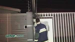 Corpo de Bombeiros é acionado para controlar princípio de incêndio Video: