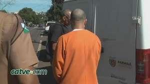 Detento da PEC é levado à clínica de psicologia no centro Video: