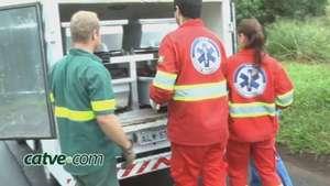Ciclista argentino morre atropelado na BR 277 e motorista foge Video: