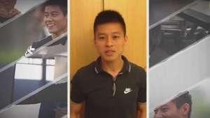 Da China, Zizao manda recado para a torcida do Corinthians Video: