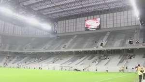 Veja bastidores do amistoso entre Atlético-PR e Corinthians Video: