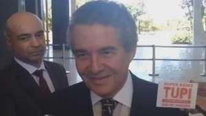 Para ministro, Barbosa sai por problemas de saúde Video: