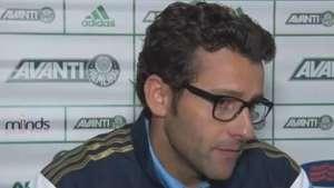 No jogo de despedida, Alberto Valentim elogia o Palmeiras Video: