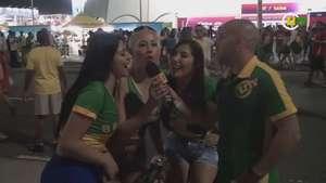 Musas bolivianas mandam recado aos jogadores brasileiros Video:
