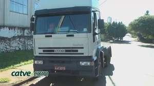 Filho encontra caminhão do pai que havia sido furtado Video: