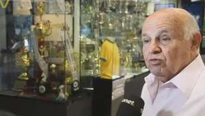 Santos: Pepe recebe torcedores no Memorial das Conquistas Video: