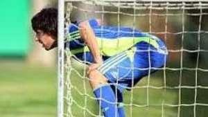 Valdivia vira goleiro por um dia em treino do Palmeiras Video: