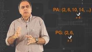 Matemática: diferencie progressão aritimética e geométrica Video: