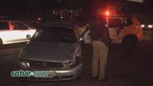 Família fica ferida em acidente no bairro Consolata Video: