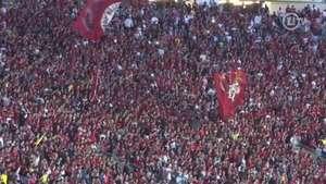 Virou moda! Torcida do Flamengo faz paródia de canto argentino Video:
