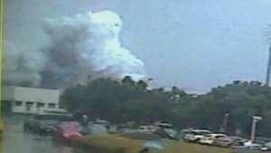 Vídeo mostra momento exato de explosão em fábrica na China Video: