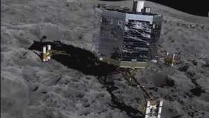 Pela 1ª vez na história Sonda chega ao encontro de cometa Video: