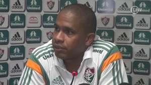 Valencia acredita que Flu não vai sofrer com a defesa Video: